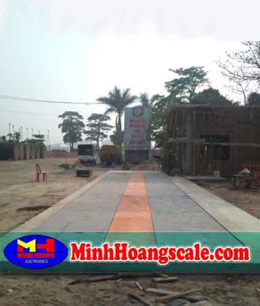 Trạm cân ô tô xe tải 30 40 50 60 tấn