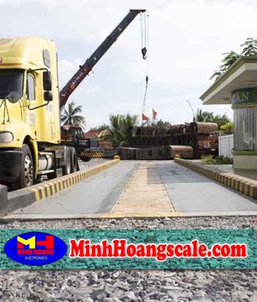 cân ô tô xe tải 80 100 120 150 tấn