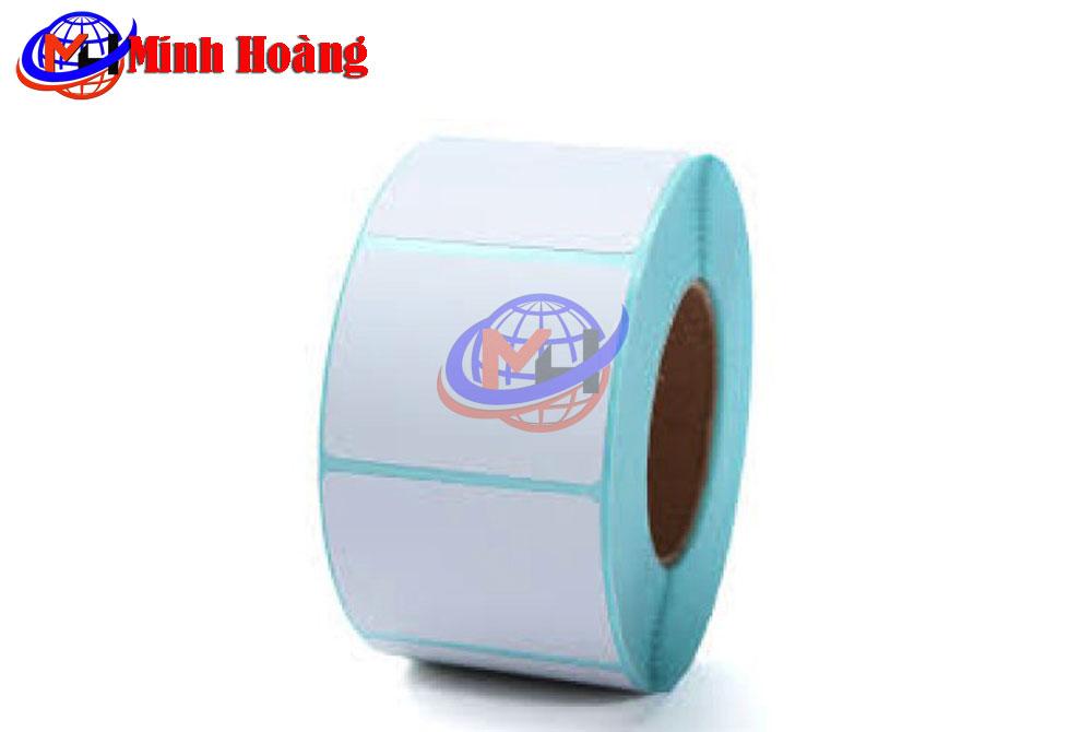 Cuộn giấy in mã vạch in decal
